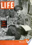 30 apr. 1945