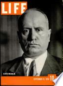 11 sept. 1939